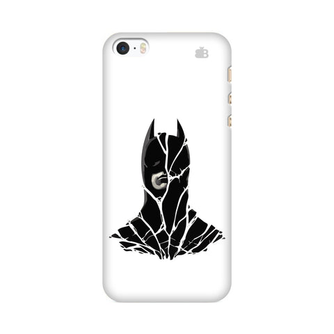 Cracked Superhero Apple iPhone SE2 Cover