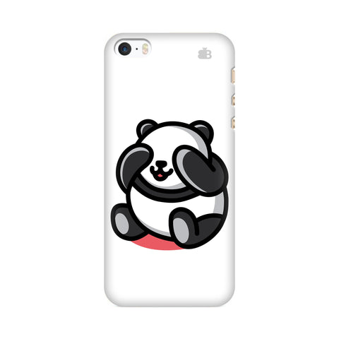 Cute Panda Apple iPhone SE2 Cover