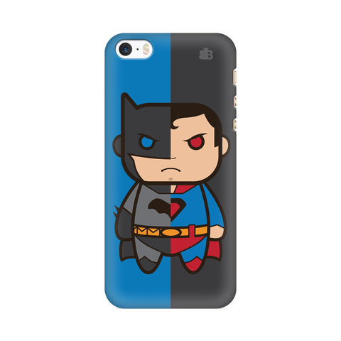 Cute Superheroes Annoyed Apple iPhone SE2 Cover