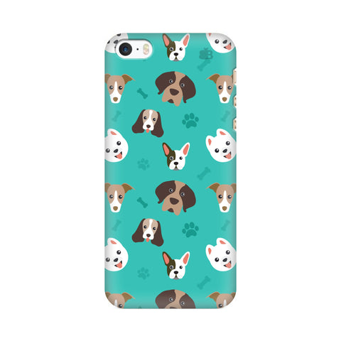Doggie Pattern Apple iPhone SE2 Cover