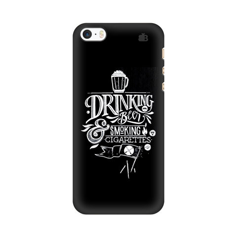 Drinking Beer Apple iPhone SE2 Cover
