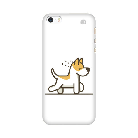 Happy Puppy Apple iPhone SE2 Cover