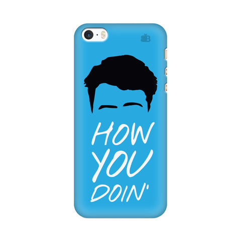 How you Doin Apple iPhone SE2 Cover