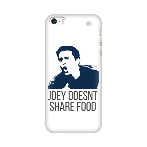 Joey doesnt share food Apple iPhone SE2 Cover