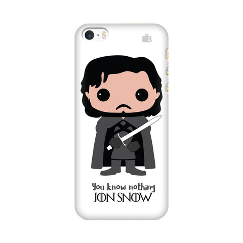 Jon Snow Bobblehead Apple iPhone SE2 Cover