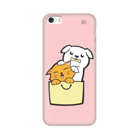 Kitty Puppy Buddies Apple iPhone SE2 Cover