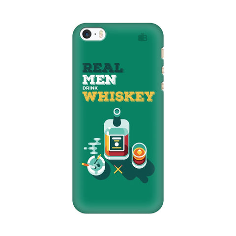 Men and Whiskey Apple iPhone SE2 Cover