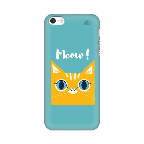 Meow Apple iPhone SE2 Cover