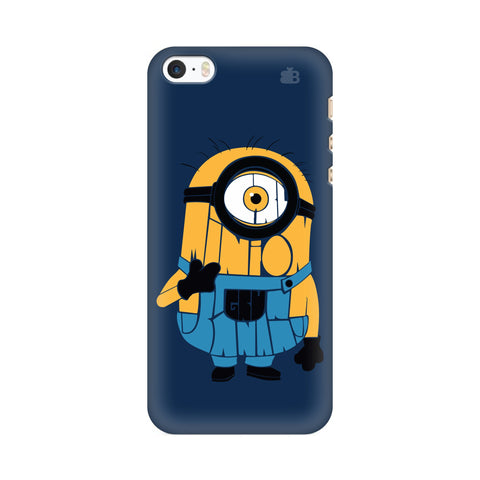 Minion Typography Apple iPhone SE2 Cover