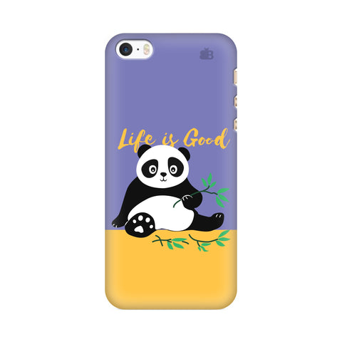 Panda Life is Good Apple iPhone SE2 Cover
