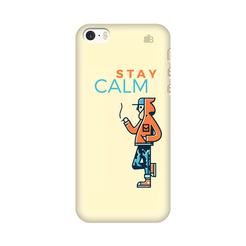 Stay Calm Apple iPhone SE2 Cover