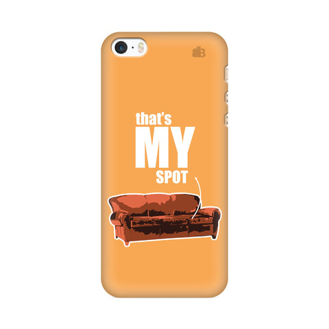 That's My Spot Apple iPhone SE2 Cover