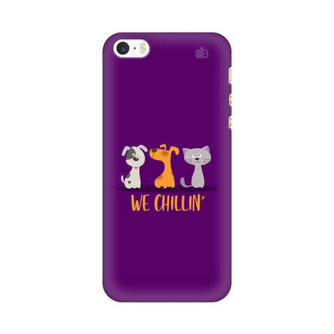 We Chillin Apple iPhone SE2 Cover