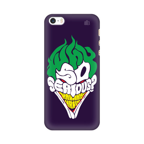 Why So Serious Apple iPhone SE2 Cover
