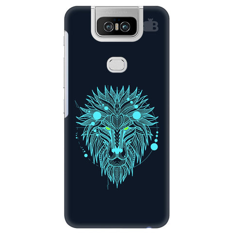 Abstract Art Lion Asus 6Z Cover