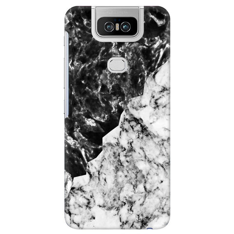 Black White Marble Asus 6Z Cover