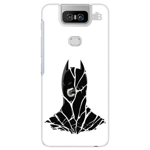 Cracked Superhero Asus 6Z Cover