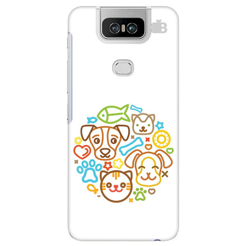 Cute Pets Asus 6Z Cover