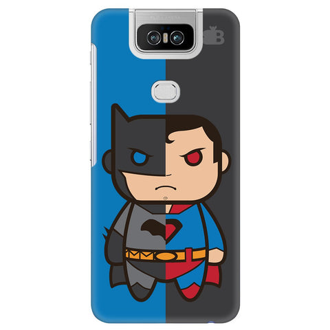 Cute Superheroes Annoyed Asus 6Z Cover