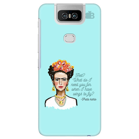 Frida Kahlo Asus 6Z Cover