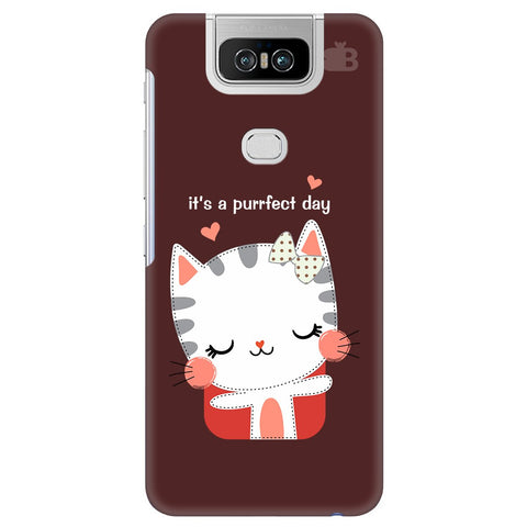 Purrfect Day Asus 6Z Cover