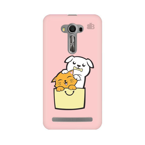 Kitty Puppy Buddies Asus Zenfone 2 Laser ZE550KL Phone Cover