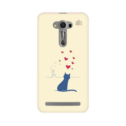 Kitty in Love Asus Zenfone 2 Laser ZE550KL Phone Cover