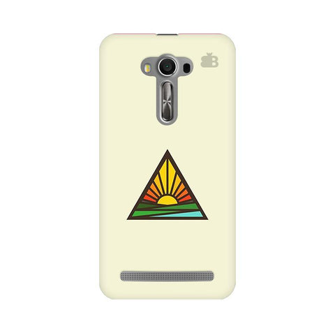Triangular Sun Asus Zenfone 2 Laser ZE550KL Phone Cover