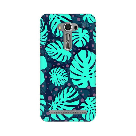 Tropical Leaves Pattern Asus Zenfone 2 Laser ZE550KL Phone Cover