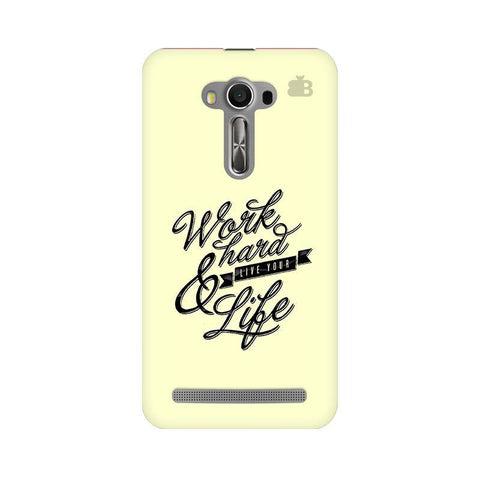 Work Hard Asus Zenfone 2 Laser ZE550KL Phone Cover