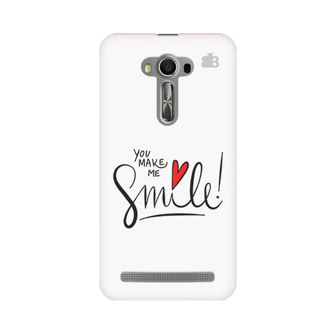 You make me Smile Asus Zenfone 2 Laser ZE550KL Phone Cover