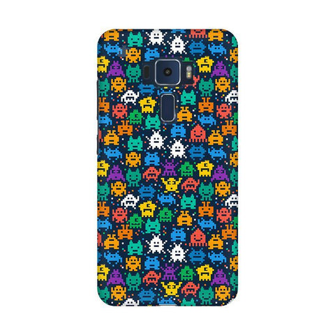 16 Bit Pattern Asus Zenfone 3 Phone Cover