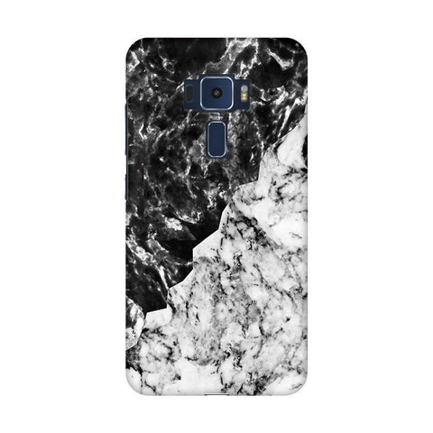 Black White Marble Asus Zenfone 3 Phone Cover