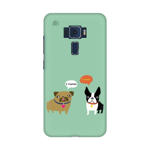 Cute Dog Buddies Asus Zenfone 3 Phone Cover