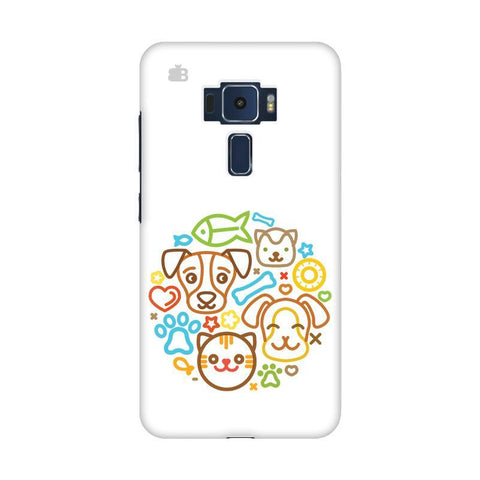 Cute Pets Asus Zenfone 3 Phone Cover