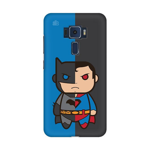 Cute Superheroes Annoyed Asus Zenfone 3 Phone Cover