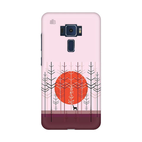 Deer in Forest Asus Zenfone 3 Phone Cover