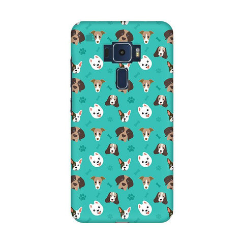 Doggie Pattern Asus Zenfone 3 Phone Cover