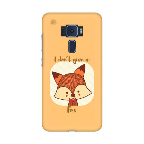 Dont give a Fox Asus Zenfone 3 Phone Cover