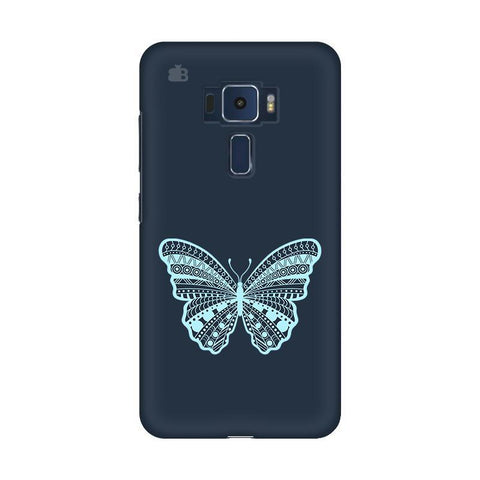 Ethnic Butterfly Art Asus Zenfone 3 Phone Cover