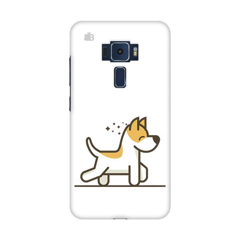 Happy Puppy Asus Zenfone 3 Phone Cover