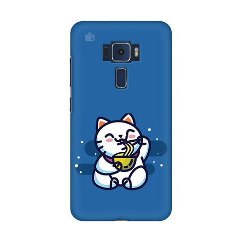 KItty eating Noodles Asus Zenfone 3 Phone Cover