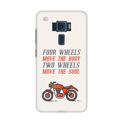 Motorcyclist Asus Zenfone 3 Phone Cover