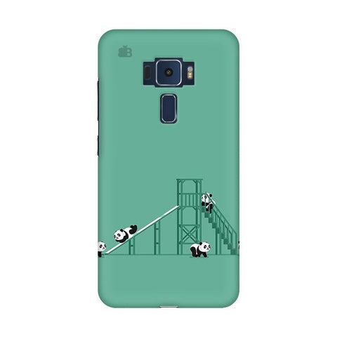 Pandas Playing Asus Zenfone 3 Phone Cover