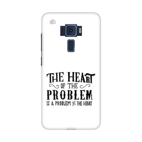 Problem of the Heart Asus Zenfone 3 Phone Cover