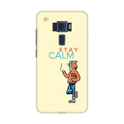 Stay Calm Asus Zenfone 3 Phone Cover