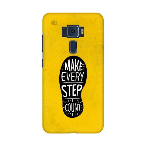 Step Count Asus Zenfone 3 Phone Cover