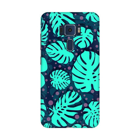 Tropical Leaves Pattern Asus Zenfone 3 Phone Cover