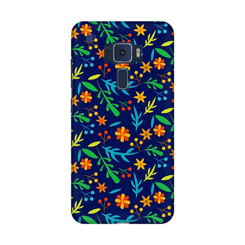 Vibrant Floral Pattern Asus Zenfone 3 Phone Cover