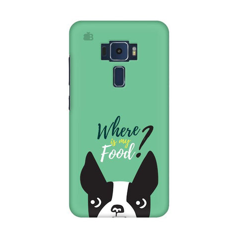 Where is my Food Asus Zenfone 3 Phone Cover